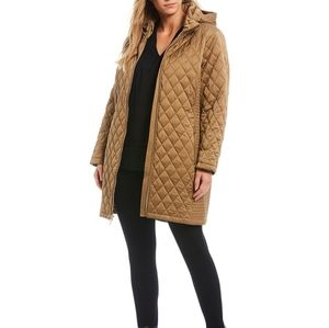 EUC Michael Kors Quilted Hood Jacket M